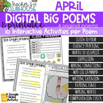 Poem of the Week {Weekly Poem Work} - April Edition