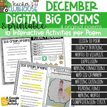 Poem of the Week {Weekly Poem Work} - December Edition