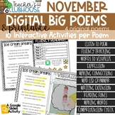 Poem of the Week {Weekly Poem Work} - November Edition
