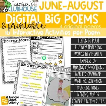 Poem of the Week {Weekly Poem Work} - Summer Edition