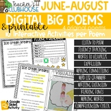 Summer Edition - Big Poems of the Week - Digital Version Included