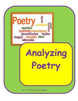 POETRY STATION: Analyzing a poem
