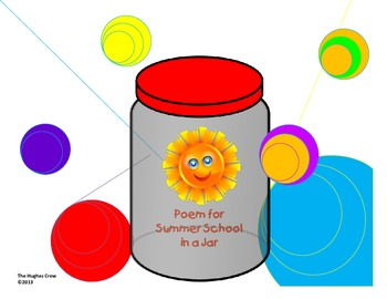 Poem for Summer School in a Jar