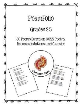 PoemFolio Grades 3-5