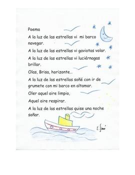 """Poema  """" A la luz de las estrellas"""""""