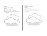 Poema: La Nube
