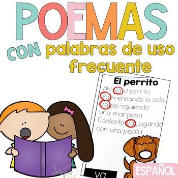Poemas de Palabras de Uso Frecuente - Sight Word Poems Spanish