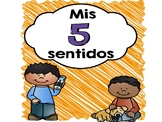 Mis cinco sentidos Poemas y más- My Five Senses Poems and more