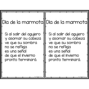 Poemas para cada mes - Poems Spanish