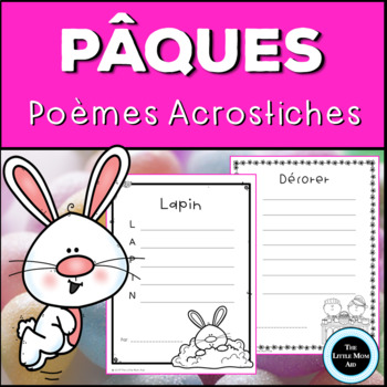 Poème Acrostiche: Pâques |Easter Acrostic Poems French/ En Français