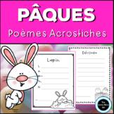 French Easter Acrostic Poems | Poèmes Acrostiches Pâques -