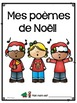 Poèmes de Noël en français | French Christmas and New Year Pocket Chart Poems