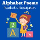Alphabet Poems   Preschool Kindergarten   Poetry   Poems  