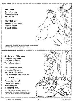 Poems About Bears