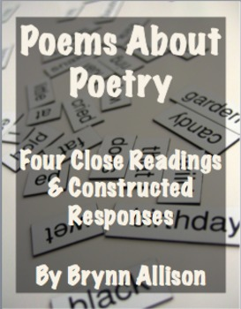Poems About Poetry: Four Close Readings with Constructed R