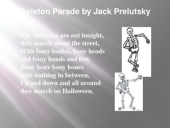 Poems For Halloween