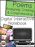 Poems - Interactive poem notebook!