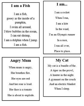 Poems: Metaphors