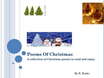 Poems Of Christmas