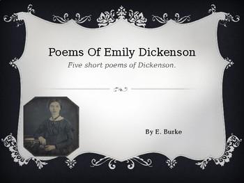 Poems Of Emily Dickenson