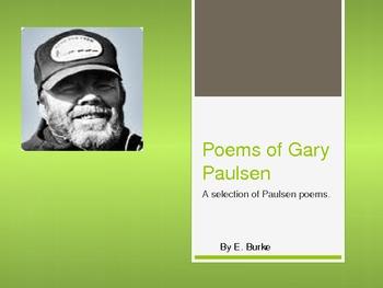 Poems Of Gary Paulsen
