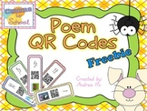 Poems QR Codes Freebie