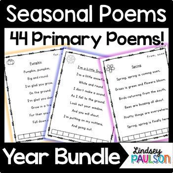 Poems & Shared Reading Year Bundle