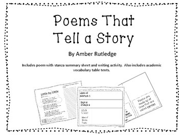 Poems That Tell a Story