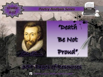 Poetry Bundle Mortality and the Human Condition Poem Analysis
