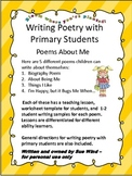 Poems about Me - Writing Poetry with Primary Students