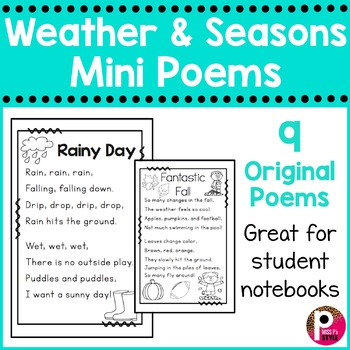 Free Poetry Interactive Notebooks Resources & Lesson Plans ...
