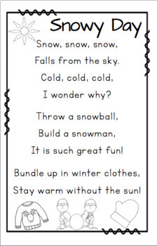 Poems about Weather and Seasons