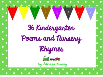 Poems and Nursery Rhymes