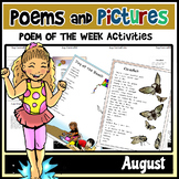 Poems and Pictures- August Original Poetry, Visuals, Responses, and JOURNALS!