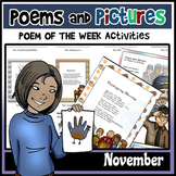 Poems and Pictures- November Original Poetry, Visuals, Responses, and JOURNALS!