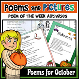 Poems and Pictures- October Original Poetry, Visuals, Responses, and JOURNALS!