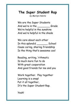 Poems and Songs for Learning Fun