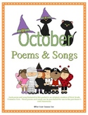 Poems and Songs for October