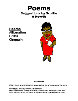 Poems by Scottie