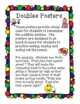 Poems for Addition Doubles