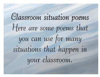 Poems for Any Classroom Situation