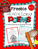 Poems for Building Reading Fluency & Writing Stamina (K-1)