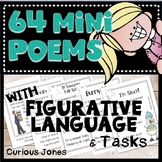 Poetry With Figurative Language & Devices - 64 Mini-Poems & Response Tasks