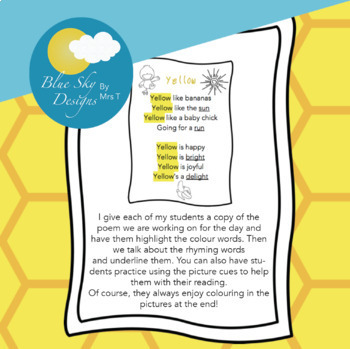 Poems for Shared Reading MINI BUNDLE!