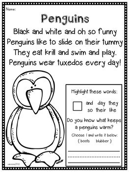 Poems for a year  K-2 { BUNDLED }