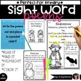 K-2 Seasonal Poems   Sight Word poem practice