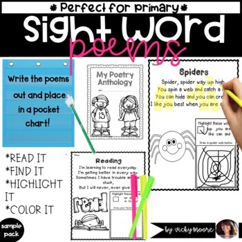 Poems for a year { sampler }