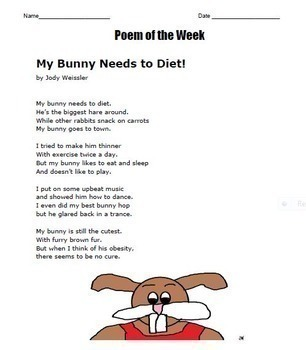 Poem of the Week -Vols.1 & 2 (40 Poems with Questions) NO PREP for Entire Year!