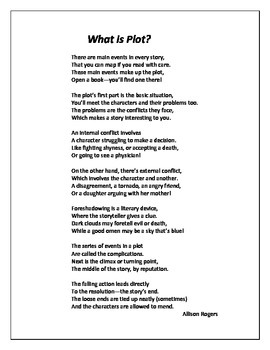 Poems to Teach Plot & Characterization (And A Class Rules Poem Too!)