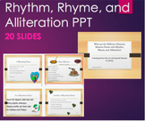 Poems with Rhythm, Rhyme, and Alliteration Poetry Analysis